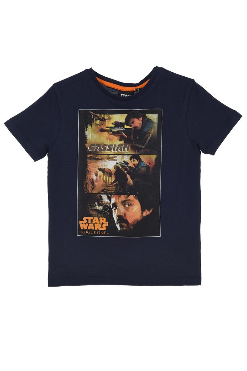 Star Wars Rogue One T-Shirt Cassian Navy 6 Jahre Gr. 116