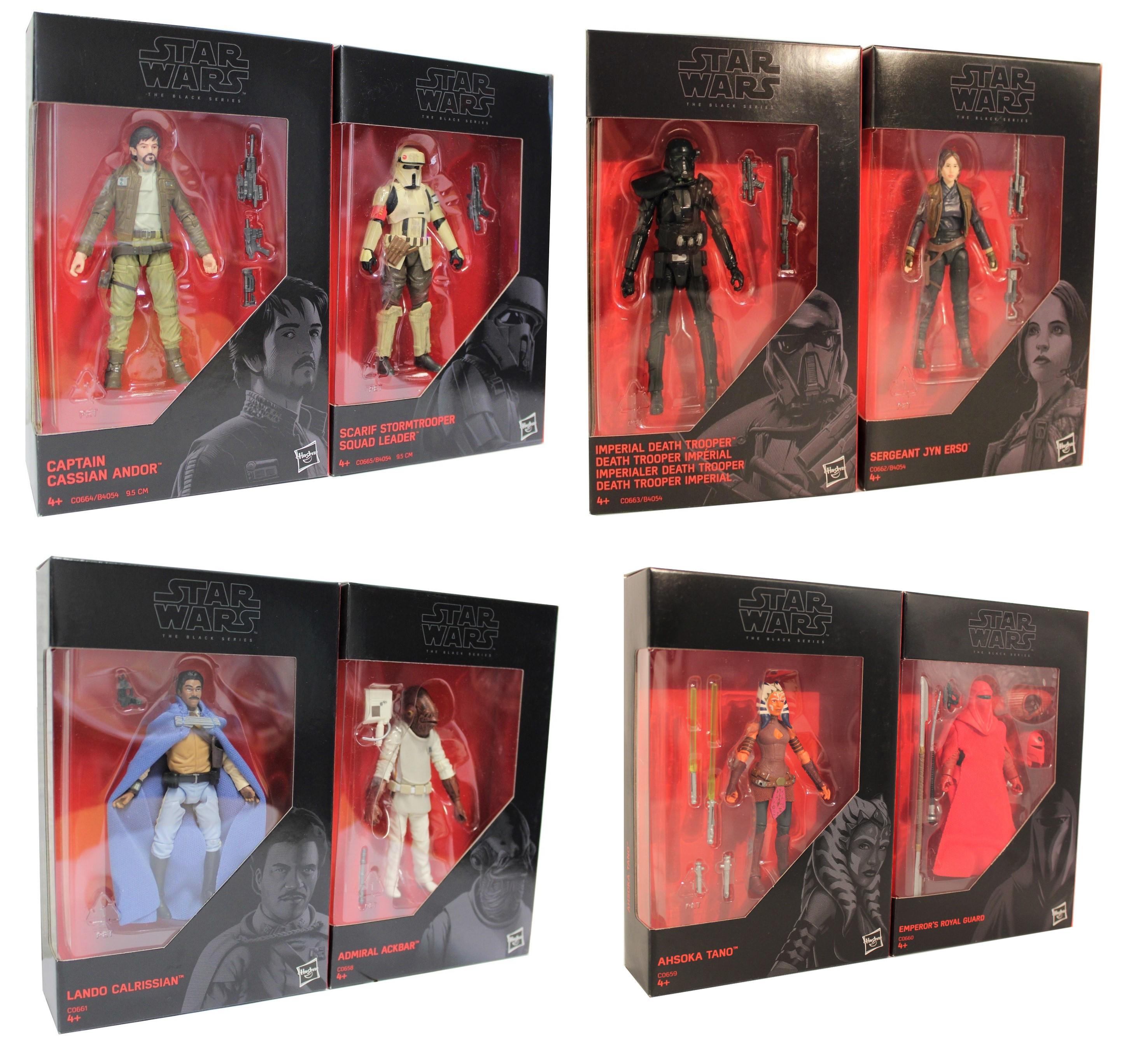Star Wars - The Black Series versch. 2er Pack Actionfiguren 9,5 cm
