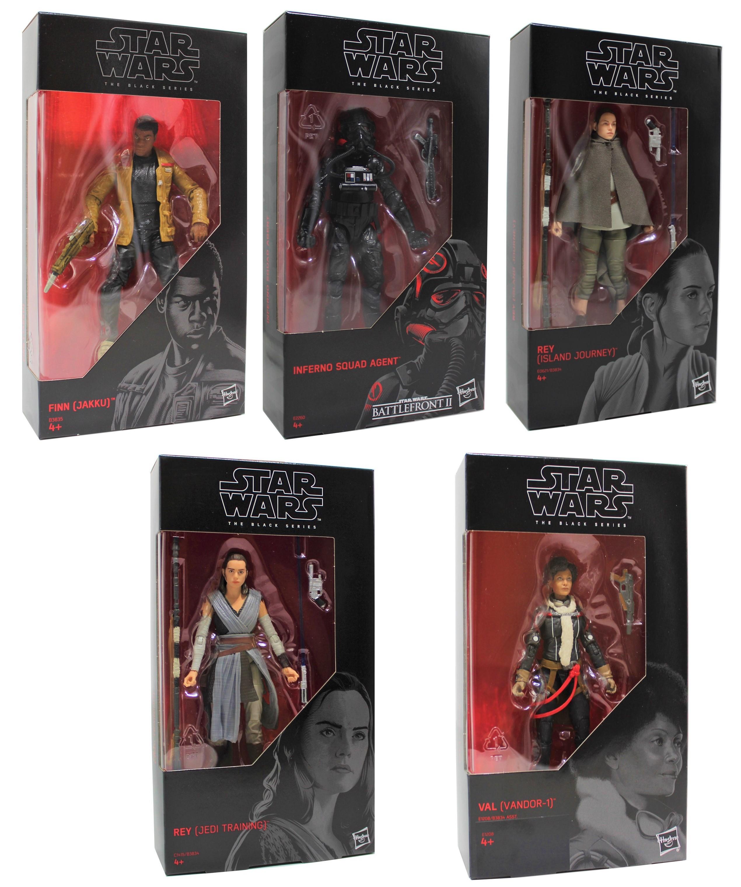 Hasbro Star Wars The Black Series verschiedene Actionfiguren 15 cm