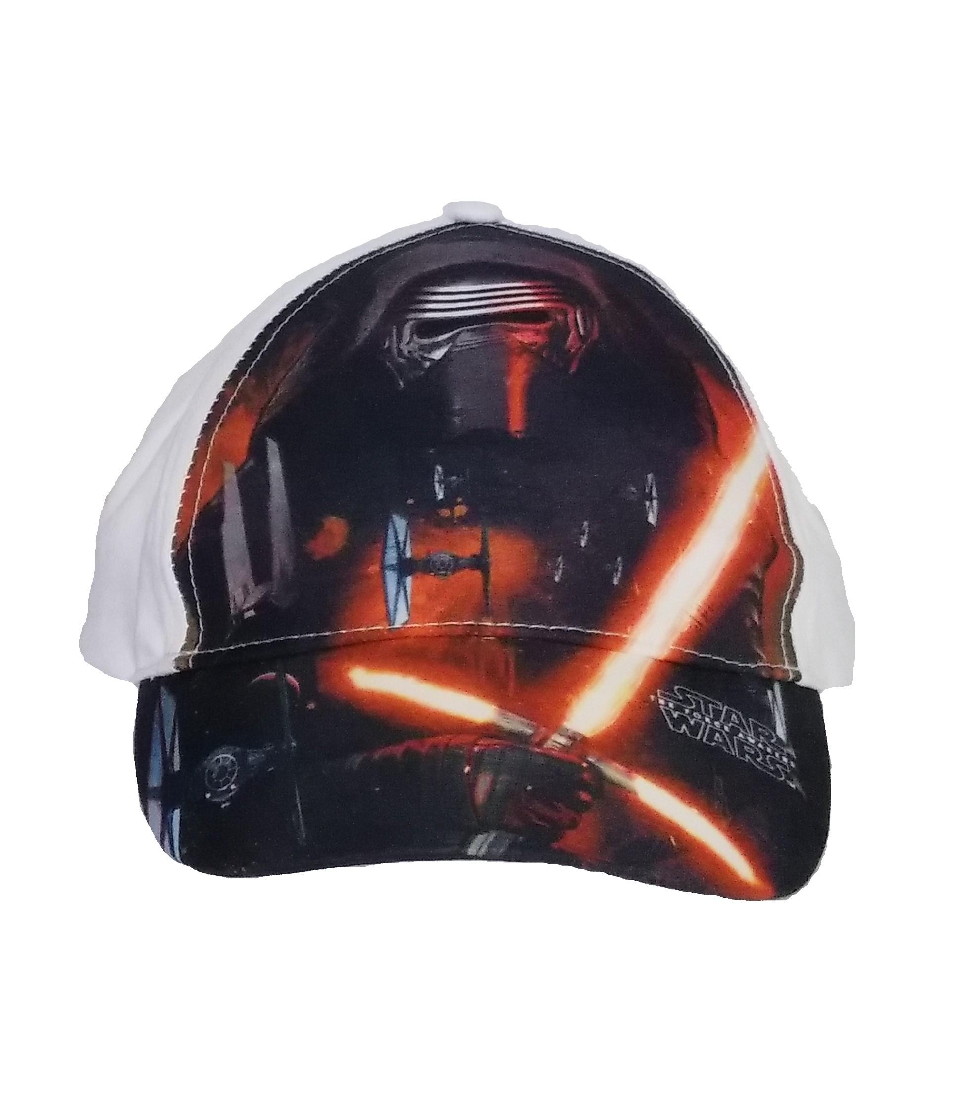 Star Wars The Force Awakens Kappe Weiß 54