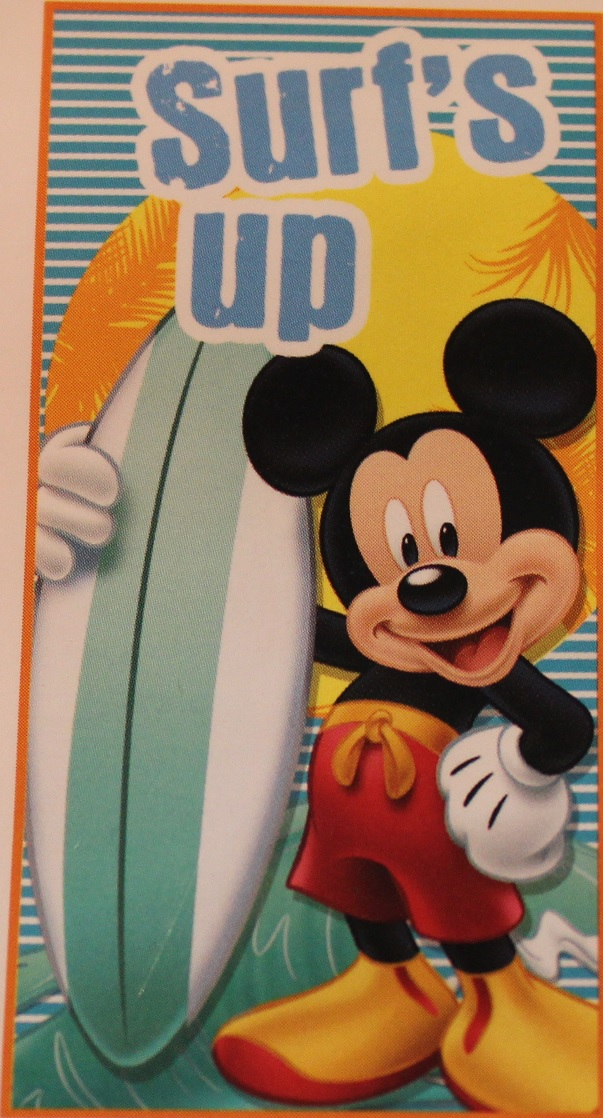 "Strandtuch Mickey Maus ""Surf's up"""