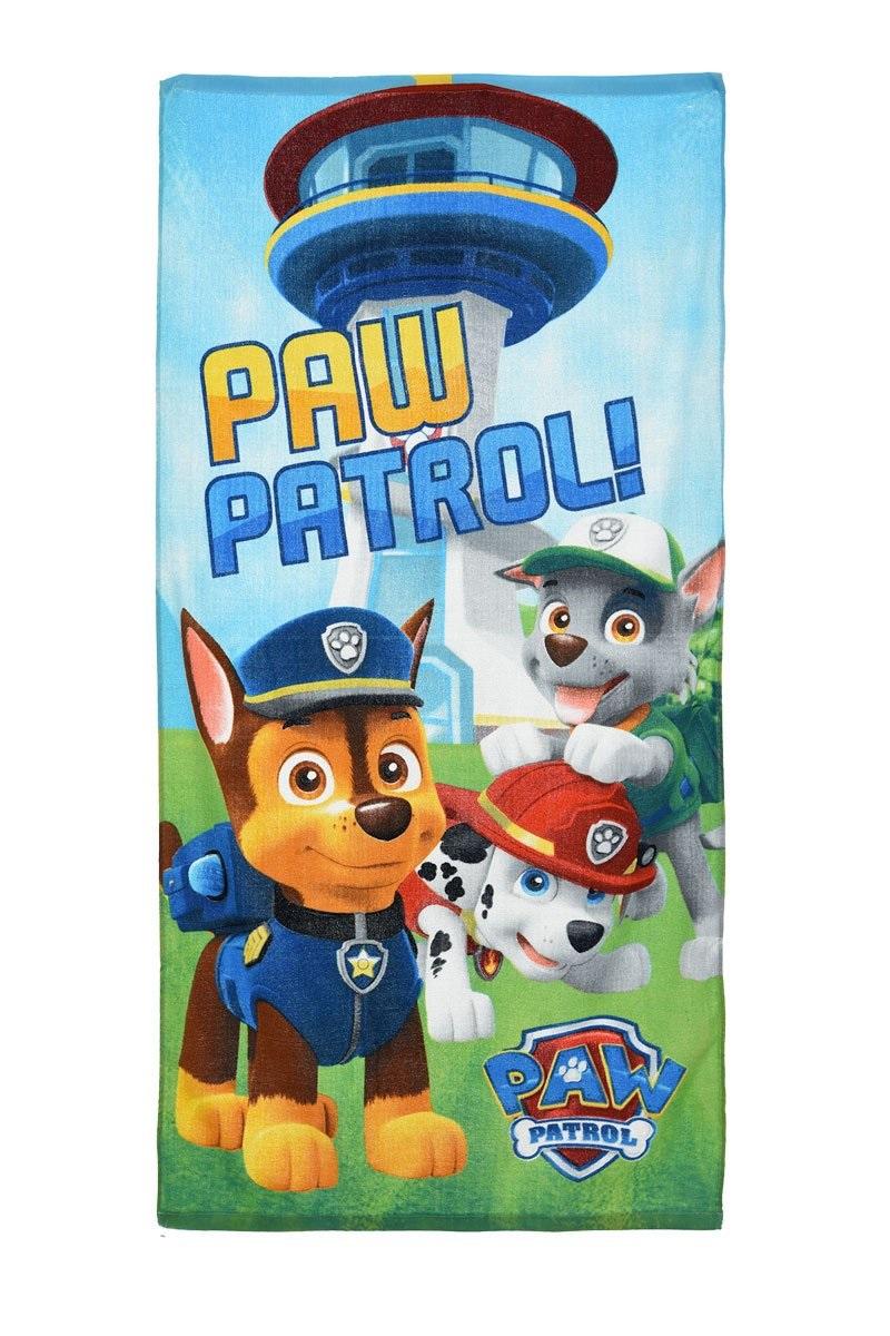Strandtuch Paw Patrol für Kinder Hellblau
