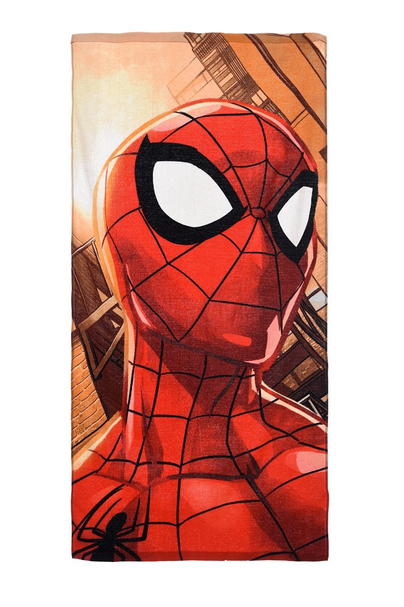 Strandtuch Spiderman für Kinder Rot