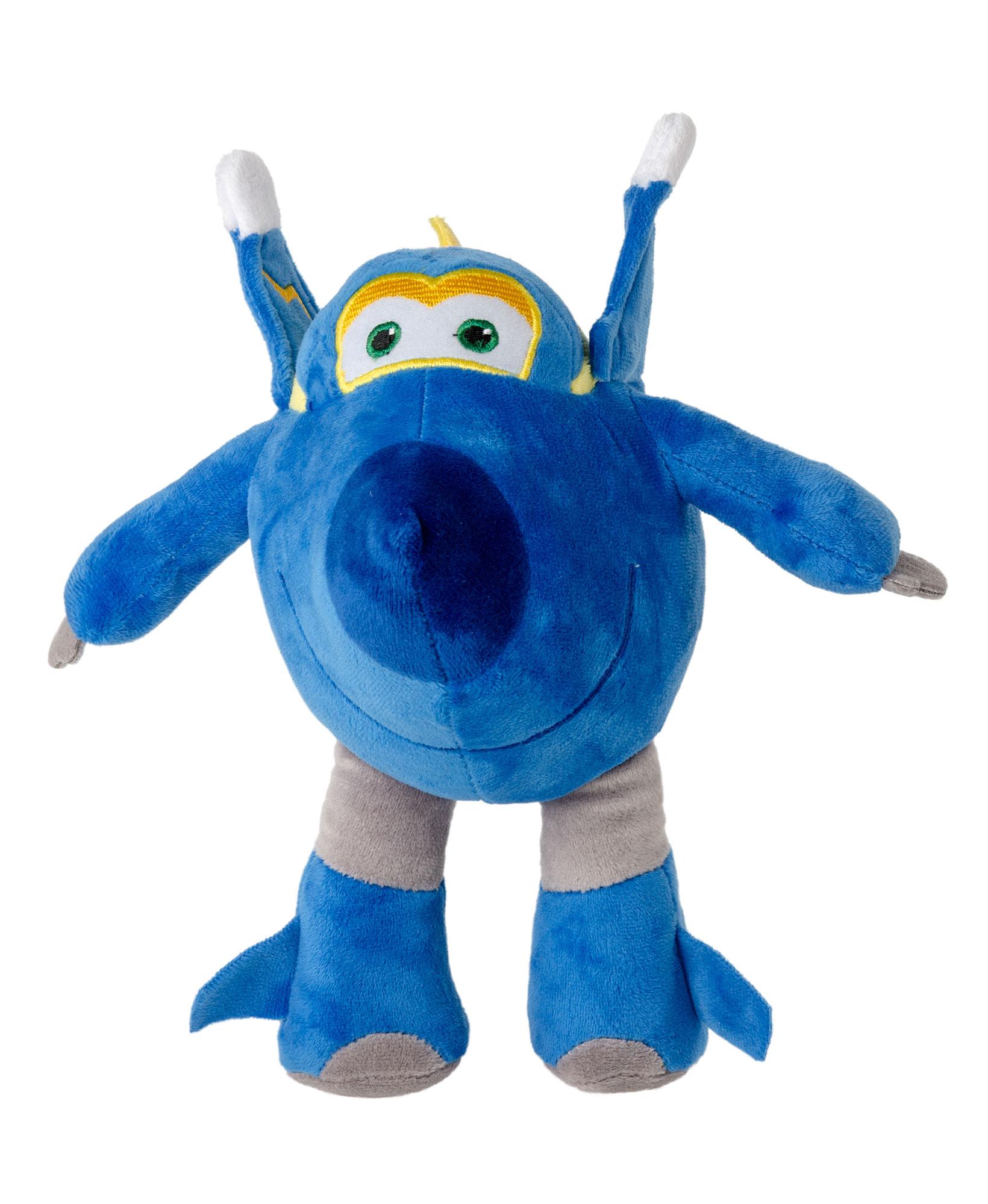 Super Wings Plüschfiguren JEROME 26 cm Blau