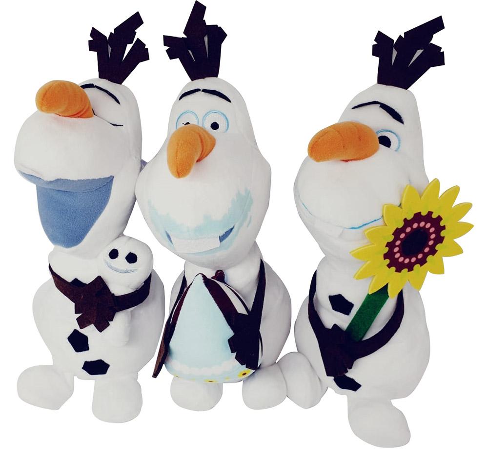 Disney Frozen Die Eiskönigin - völlig unverfroren Plüschfiguren Olaf (Auswahl)