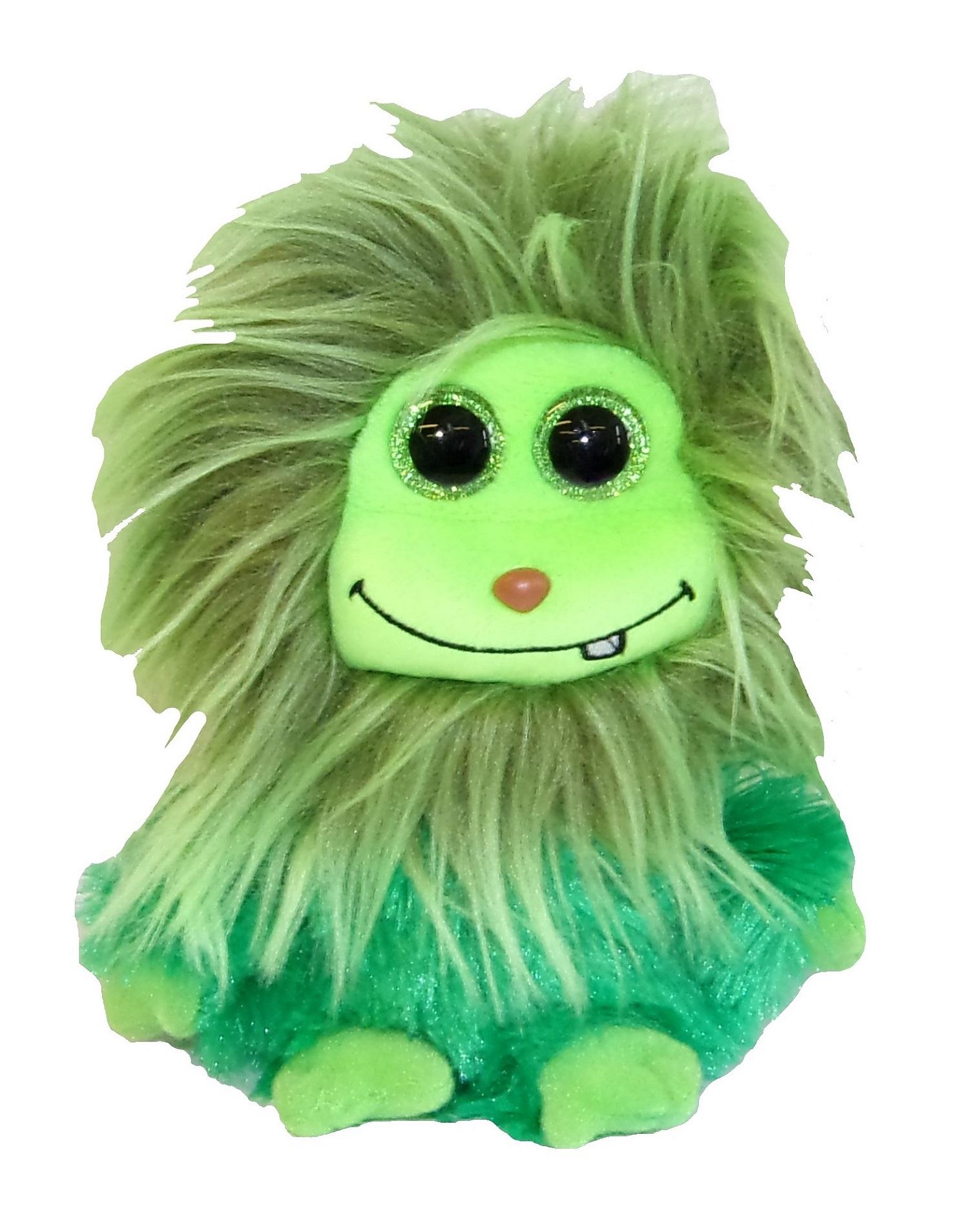 TY Frizzys Scoops Buddy Plüschfigur grün 15 cm