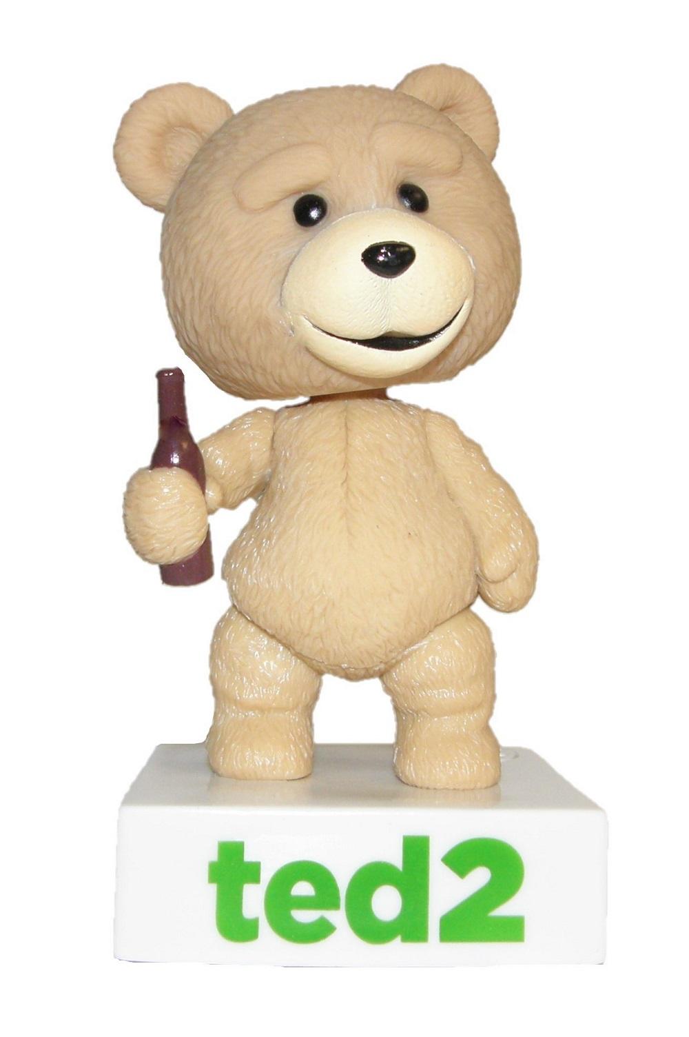 Ted 2 Ted sprechende Sammelfigur Bär mit Wackelkopf 6180