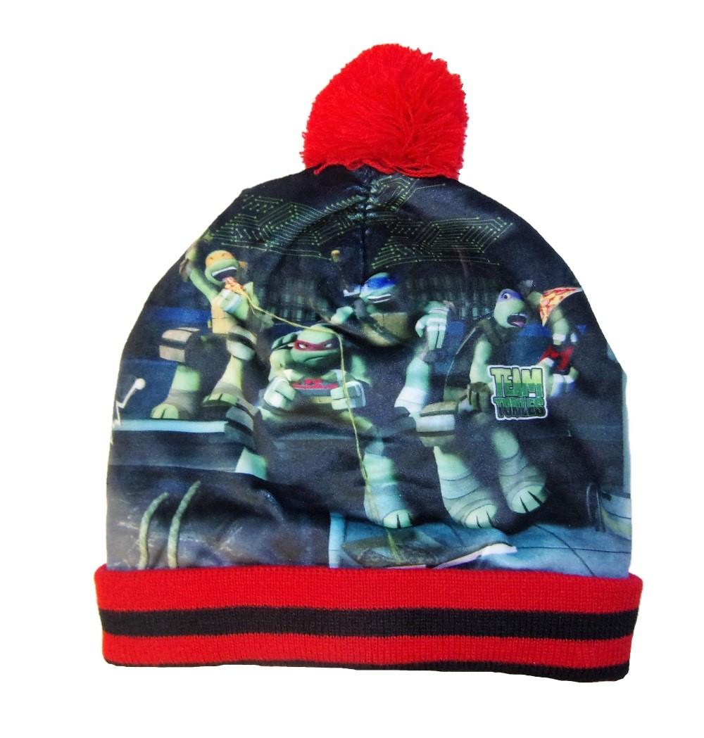 Teenage Mutant Ninja Turtles Mütze-Handschuh Set Rot 52