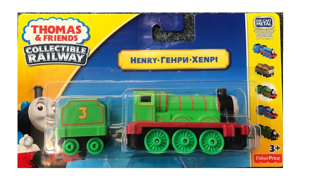 Thomas & Friends - HENRY Collectible Railway BHR72