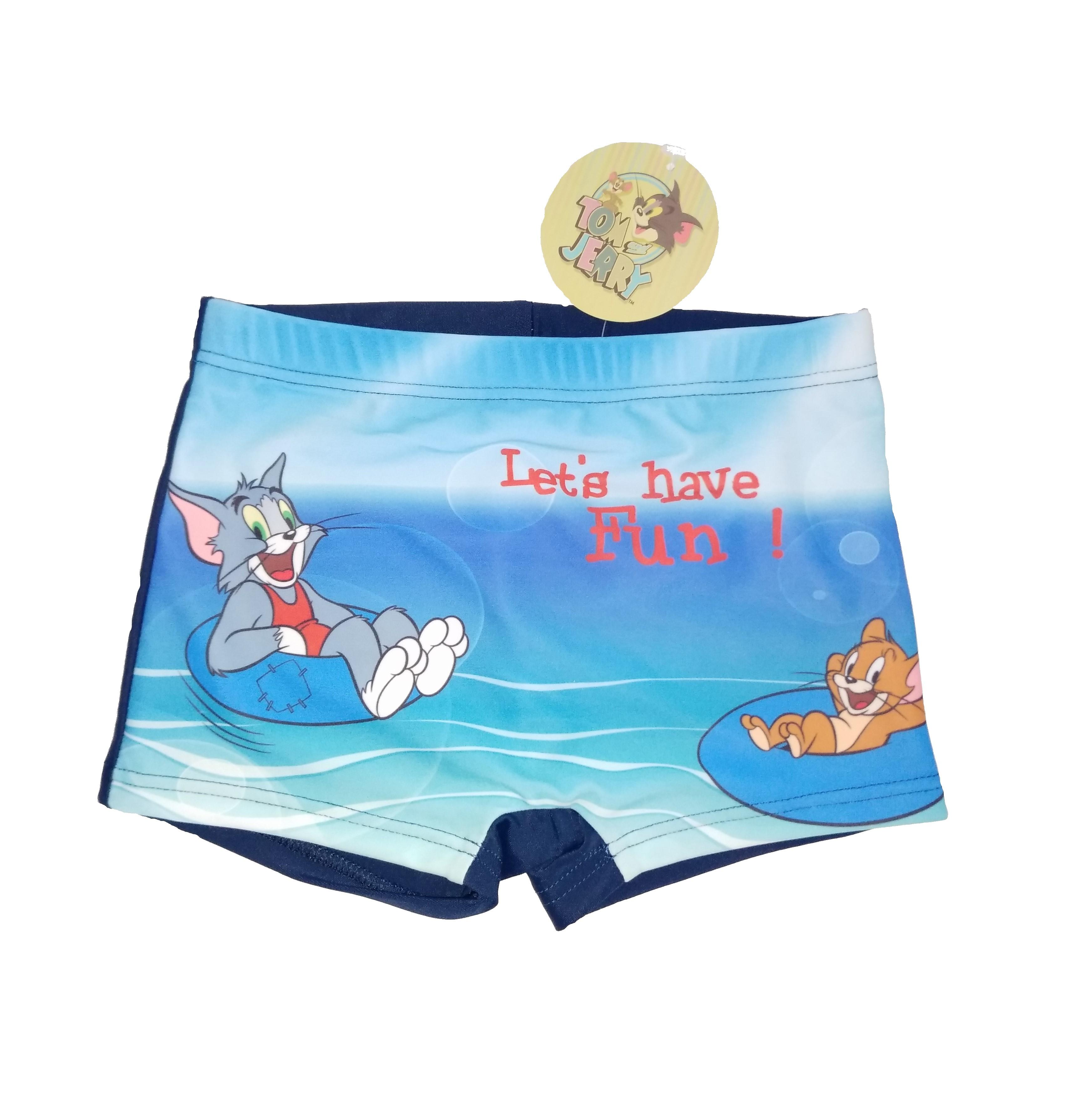 Tom & Jerry Badehose Let´s have Fun! für Jungen Navy