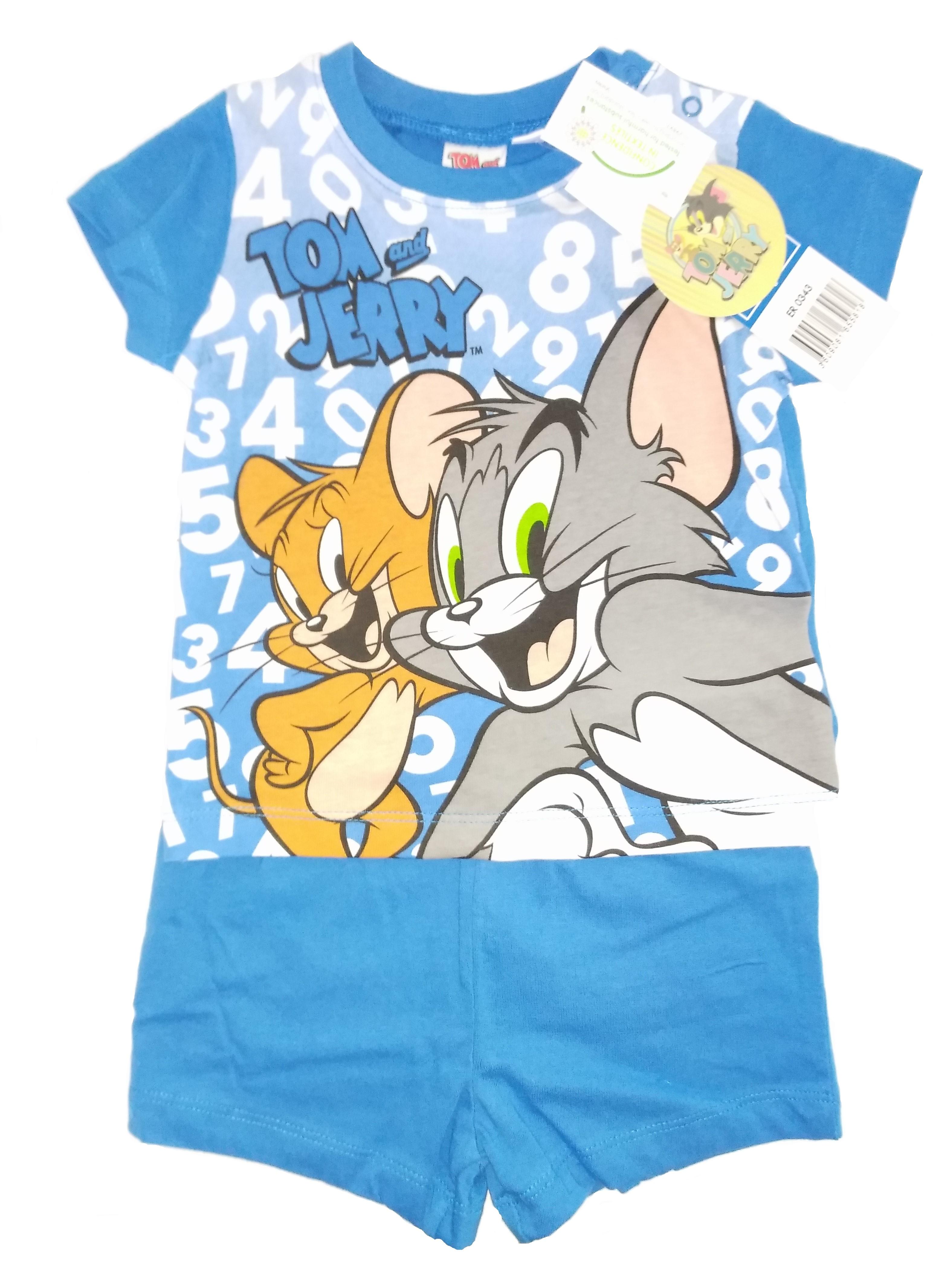 Tom & Jerry Pyjama für Kinder Blau (Auswahl)