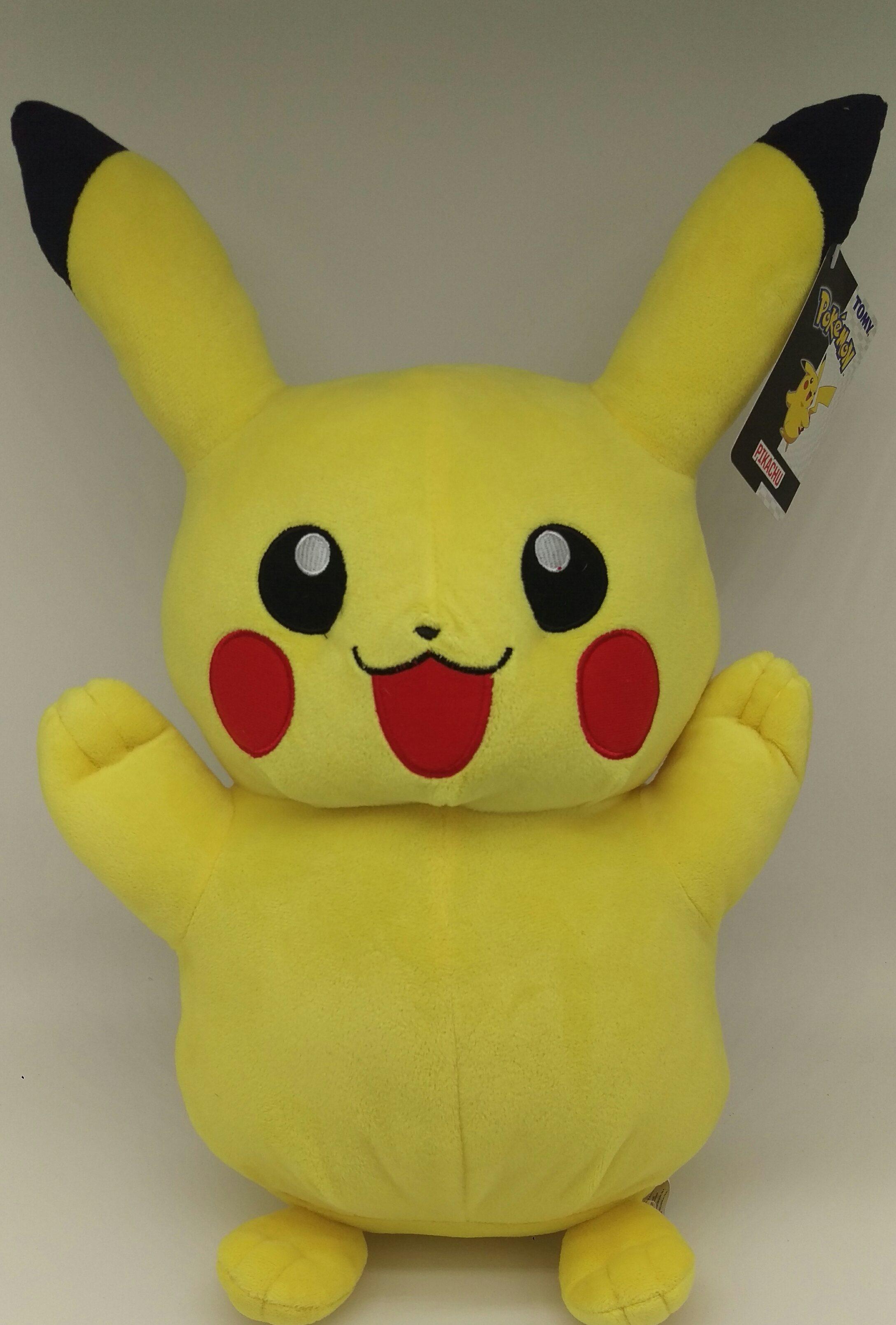 Tomy Pokemon - Pikachu Plüschfigur (ca. 40cm)