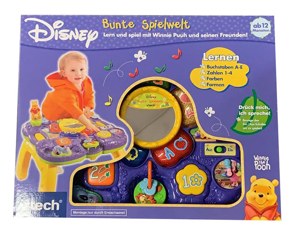 VTech Baby 80-125404 Disney Winnie Puuh Kleines Musikstudio Musik Zahlen Wörter