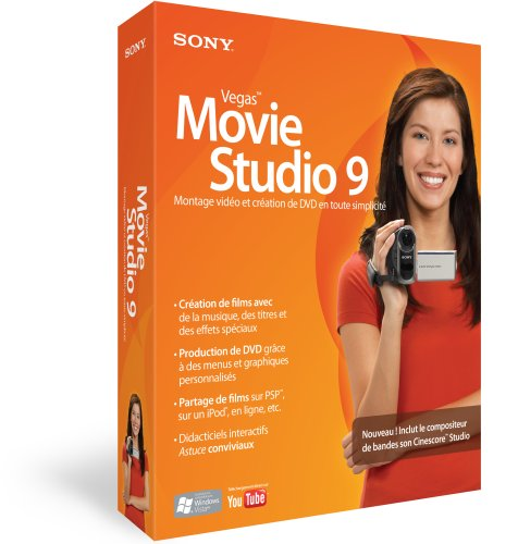 Sony Vegas Movie Studio 9 Software FR