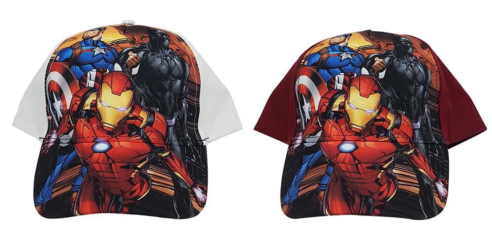 Marvel Avengers Kappen Iron Man, Black Panther & Captain America (Auswahl)