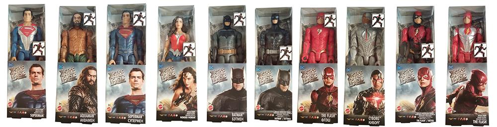 Justice League DC versch. bewegliche Action-Figuren für Kinder 30 cm (Auswahl)