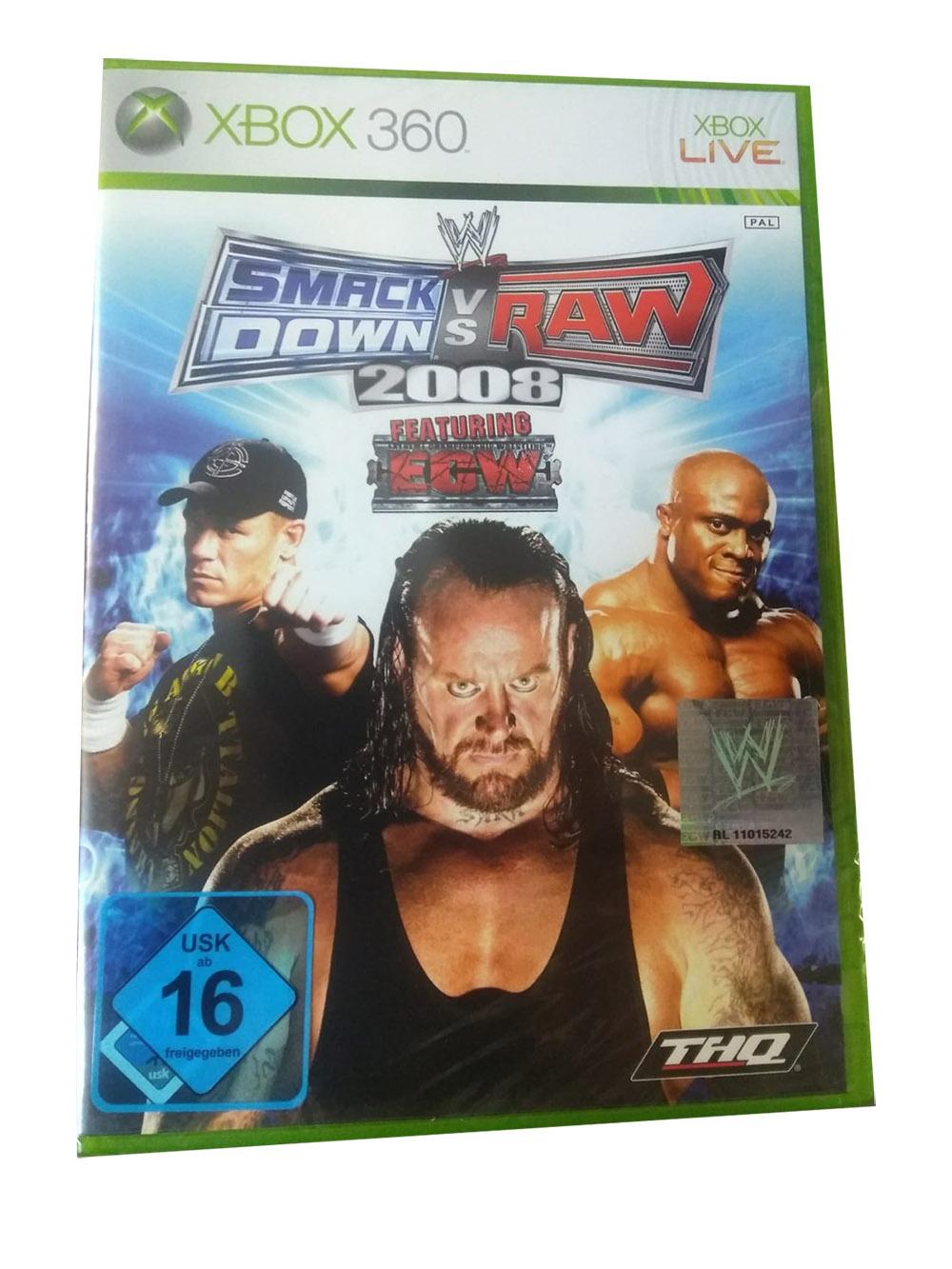 WWE Smack Down vs RAW 2008 feat. ECW für Xbox360